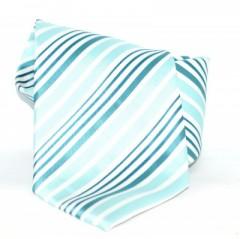 Goldenland nyakkendő - Menta-fehér csíkos