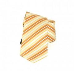 Goldenland gyerek nyakkendő - Narancs csíkos