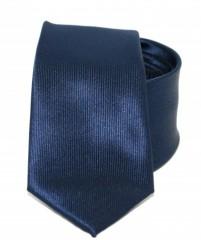 Goldenland slim nyakkendő - Sötétkék Akciós