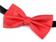 Dobozos csokornyakkendő - Piros Egyszínű