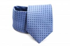 Prémium nyakkendő - Kék kockás Kockás nyakkendők