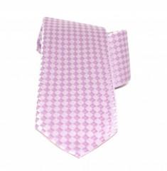 Saint Michael selyem nyakkendő - Rózsaszín kockás