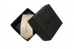 Nyakkendős díszdoboz - Fekete