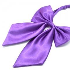 Szatén női csokornyakkendő - Lila Női nyakkendők, csokornyakkendő