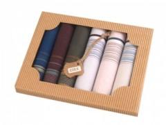 Ajándék zsebkendő szett - 6 db