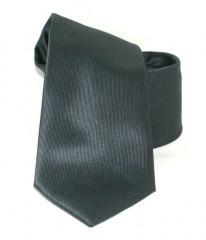 Goldenland slim nyakkendő - Grafit szürke Egyszínű nyakkendő