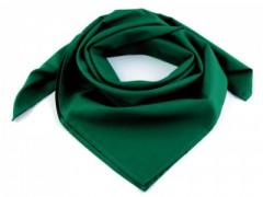 Pamut női kendő - Zöld