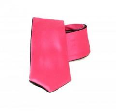 Goldenland 2in1 slim nyakkendő - Fekete-pink