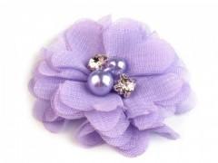 Textil virág - Orgona