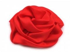 Szatén rózsa - Piros