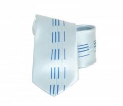 Classic prémium nyakkendő - Kék mintás Mintás nyakkendők