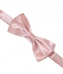 Zsorzsett szatén csokornyakkendő - Fáradt rózsaszín