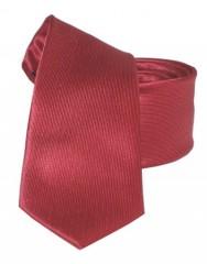 Goldenland slim nyakkendő - Meggybordó Akciós