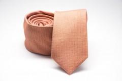Prémium slim nyakkendő - Barack mintás Aprómintás nyakkendő