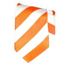 G.L selyemnyakkendő  - Narancs-fehér csíkos