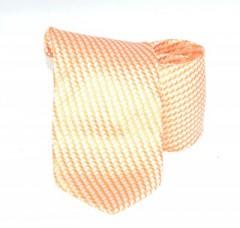 Classic prémium nyakkendő - Narancssárga mintás