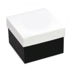 Díszdoboz - Nyakkendős fekete-fehér