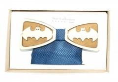 Fa csokornyakkendő szett - Batman mintás
