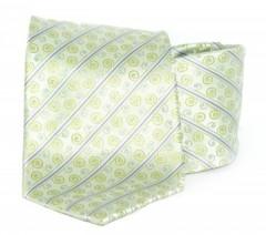 Goldenland nyakkendő - Halványzöld mintás