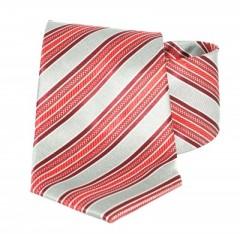 Goldenland nyakkendő - Piros-szürke csíkos