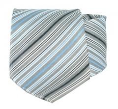 Goldenland nyakkendő - Szürke-kék csíkos