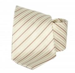 Goldenland nyakkendő - Drapp-barna csíkos