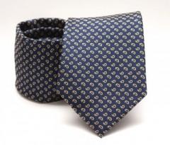 Prémium nyakkendő -  Kék mintás