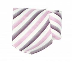 Goldenland nyakkendő - Rózsaszín-lila csíkos