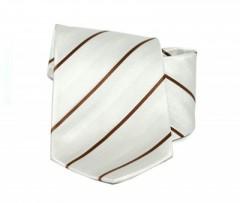 Goldenland nyakkendő - Barna csíkos