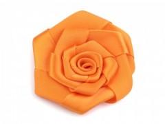 Szatén rózsa - Narancs