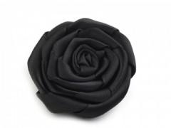 Szatén rózsa - Fekete