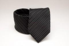 33546425ea Prémium nyakkendő - Fekete csíkos
