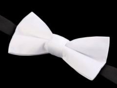 Gyerek szatén csokornyakkendő - Fehér