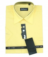 Goldenland rövidujjú ing - Napsárga Normál fazon