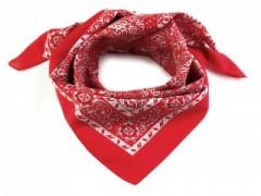 Kázsmér mintás kendő - Piros