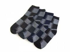 Pamut férfi zokni csomag - 4 db  Zokni
