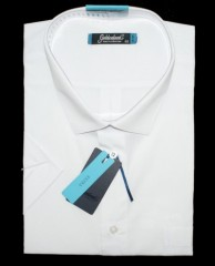 Goldenland extra rövidujjú ing - Fehér Extra méret