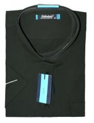 Goldenland extra rövidujjú ing - Fekete Extra méret