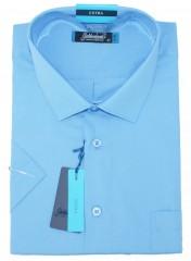Goldenland extra rövidujjú ing - Kék Extra méret