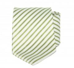 Goldenland nyakkendő - Halványzöld csíkos